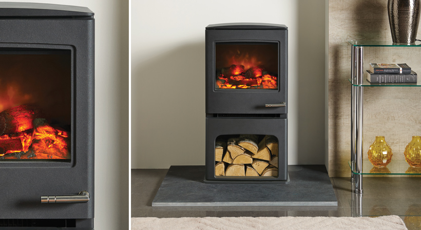 Yeoman Electric Cl5 Midline Charlestown Wood Burners