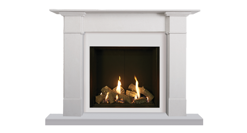 Gazco Gas Riva2 750hl Edge Charlestown Wood Burners